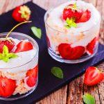 resepi strawberi dengan krim sapu