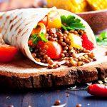 Resepi Tortilla Vegan Bungkus