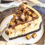 Resepi No-Bake Peanut Butter Cheesecake